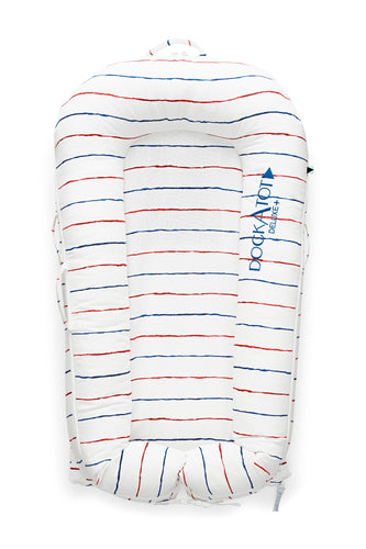 Spare Cover for DockATot Deluxe - Coastal Stripe