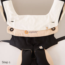 Load image into Gallery viewer, Ergobaby Teething Bib: Natural