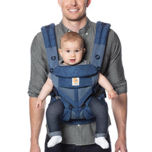 Load image into Gallery viewer, Ergobaby Omni 360 Cool Air Mesh Baby Carrier - Blue Blooms