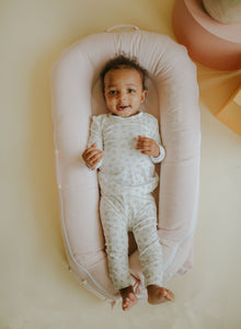 DockATot Deluxe+ Baby Nest - Strawberry Cream