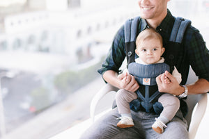 Ergobaby Omni 360 Cool Air Mesh Baby Carrier - Indigo Weave