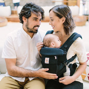 Ergobaby Adapt Baby Carrier: Cool Air Mesh - Onyx Black