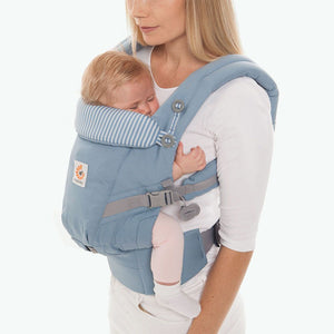 Ergobaby Adapt Baby Carrier: Azure Blue