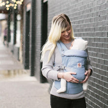Load image into Gallery viewer, Ergobaby Adapt Baby Carrier: Azure Blue