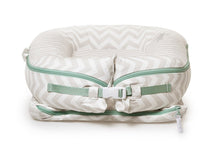Load image into Gallery viewer, DockATot Deluxe+ Baby Nest - Silver Lining (chevron)