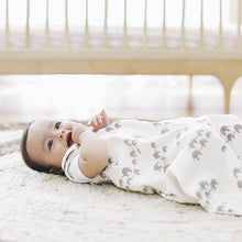 Load image into Gallery viewer, Ergobaby Baby Sleeping Bag + Swaddler Set: Elephant