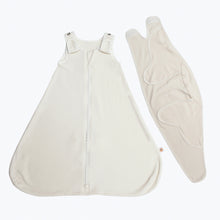 Load image into Gallery viewer, Ergobaby Baby Sleeping Bag + Swaddler Set: Natural