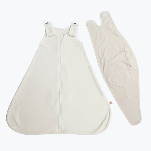 Ergobaby Baby Sleeping Bag + Swaddler Set: Natural