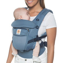 Load image into Gallery viewer, Ergobaby Adapt Baby Carrier: Cool Air Mesh - Oxford Blue