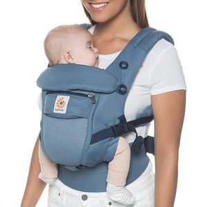 Ergobaby Adapt Baby Carrier: Cool Air Mesh - Oxford Blue