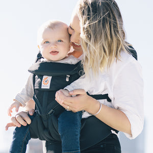 Ergobaby Omni 360 Baby Carrier: Cool Air Mesh - Onyx Black