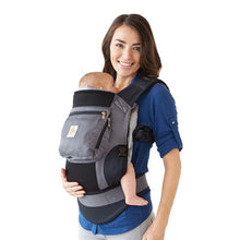 Load image into Gallery viewer, Ergobaby Original Baby Carrier: Bundle of Joy with Easy Snug Infant Insert - Charcoal