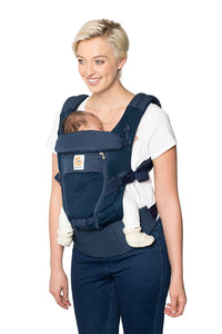 Ergobaby Adapt Baby Carrier: Cool Air Mesh - Deep Blue