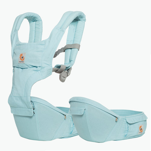 Ergobaby Hip Seat Baby Carrier: Island Blue
