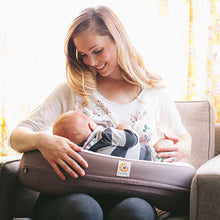 Load image into Gallery viewer, Ergobaby Natural Curve Nursing Pillow: Brown
