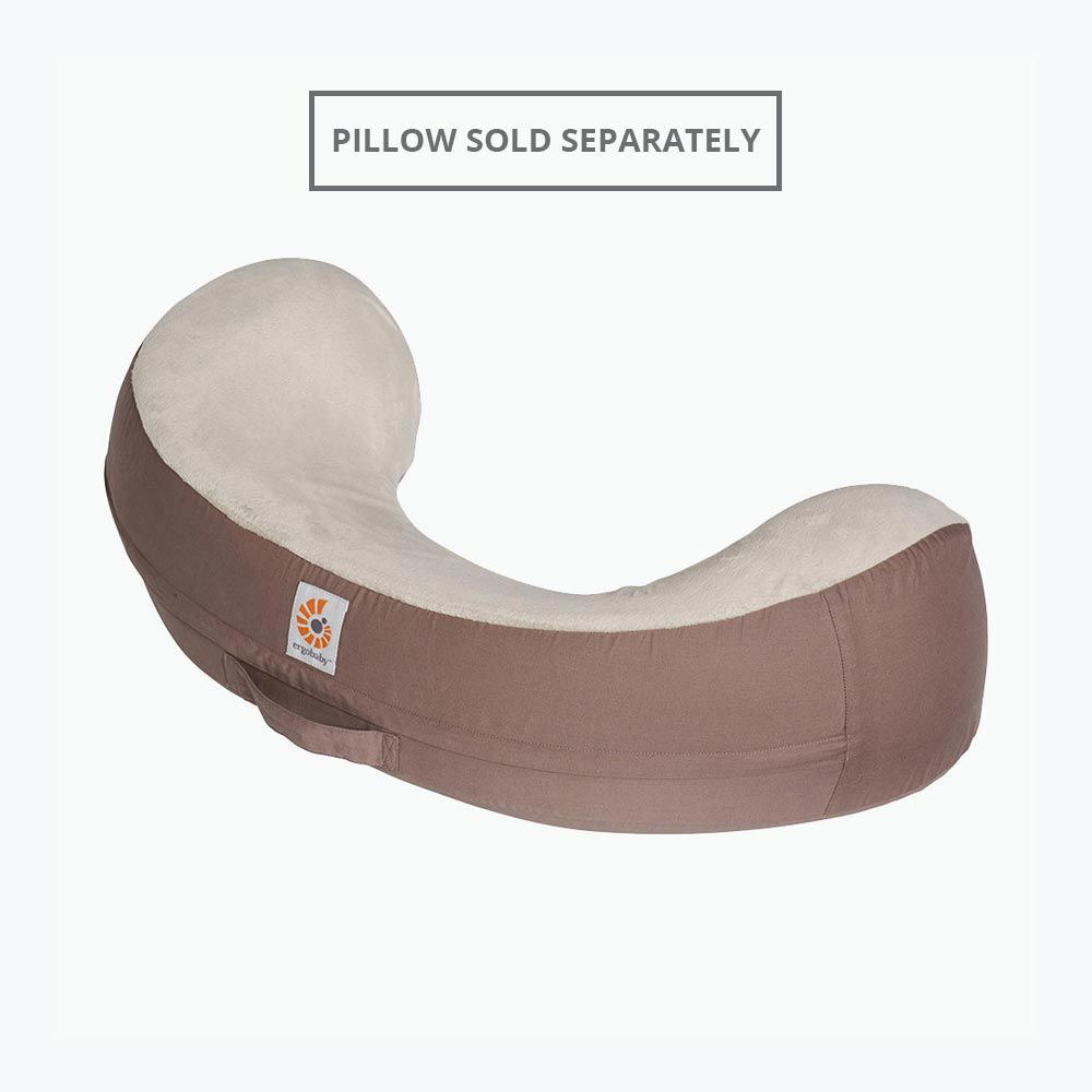 Ergobaby Nursing Pillow Cover: Brown