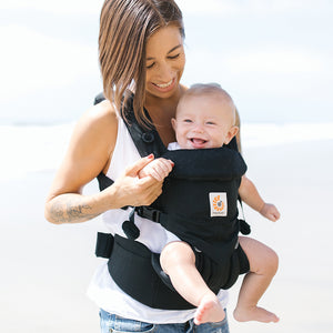 Ergobaby Omni 360 Baby Carrier: Pure Black