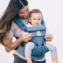 Load image into Gallery viewer, Ergobaby Omni 360 Baby Carrier: Cool Air Mesh - Oxford Blue