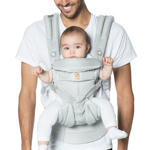 Ergobaby Omni 360 Baby Carrier: Cool Air Mesh - Pearl Grey