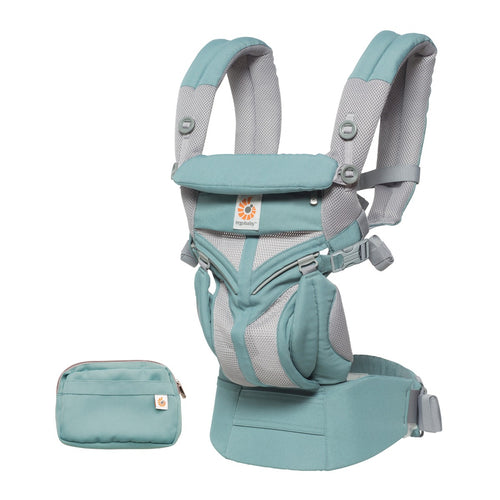 Ergobaby Omni 360 Baby Carrier: Cool Air Mesh - Icy Mint