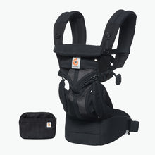 Load image into Gallery viewer, Ergobaby Omni 360 Baby Carrier: Cool Air Mesh - Onyx Black