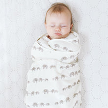 Load image into Gallery viewer, Ergobaby Swaddler: Elephant