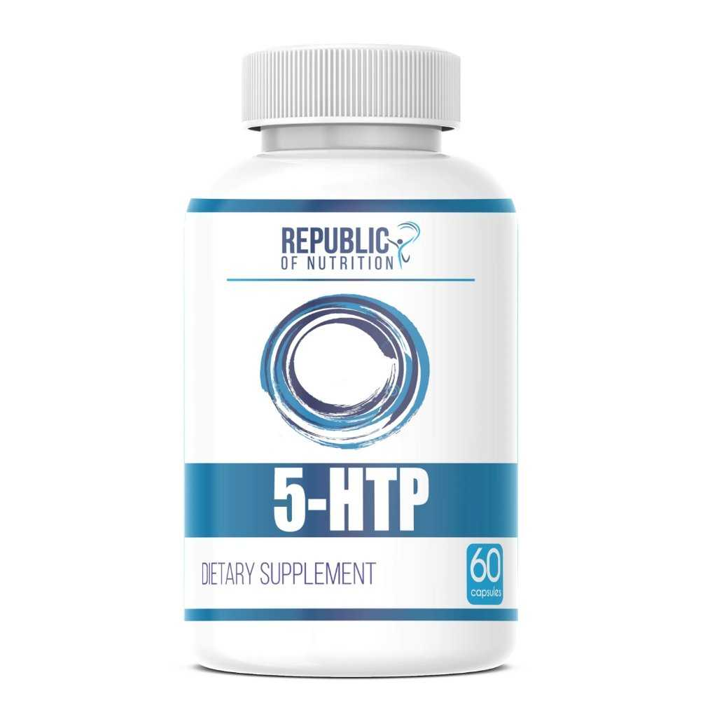 5-HTP 200mg | Triptofano - Sueño - Animo y Apetito - Republic Of Nutrition Chile