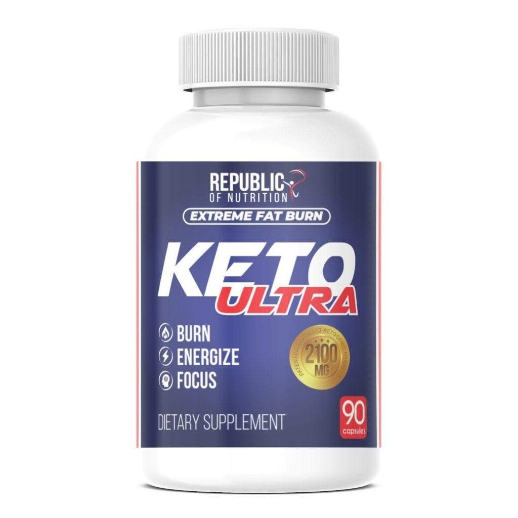 Keto Plus Ultra Extreme 2100mg | Quemador Grasa - Adelgazante - Cetosis - Energía - Republic Of Nutrition Chile