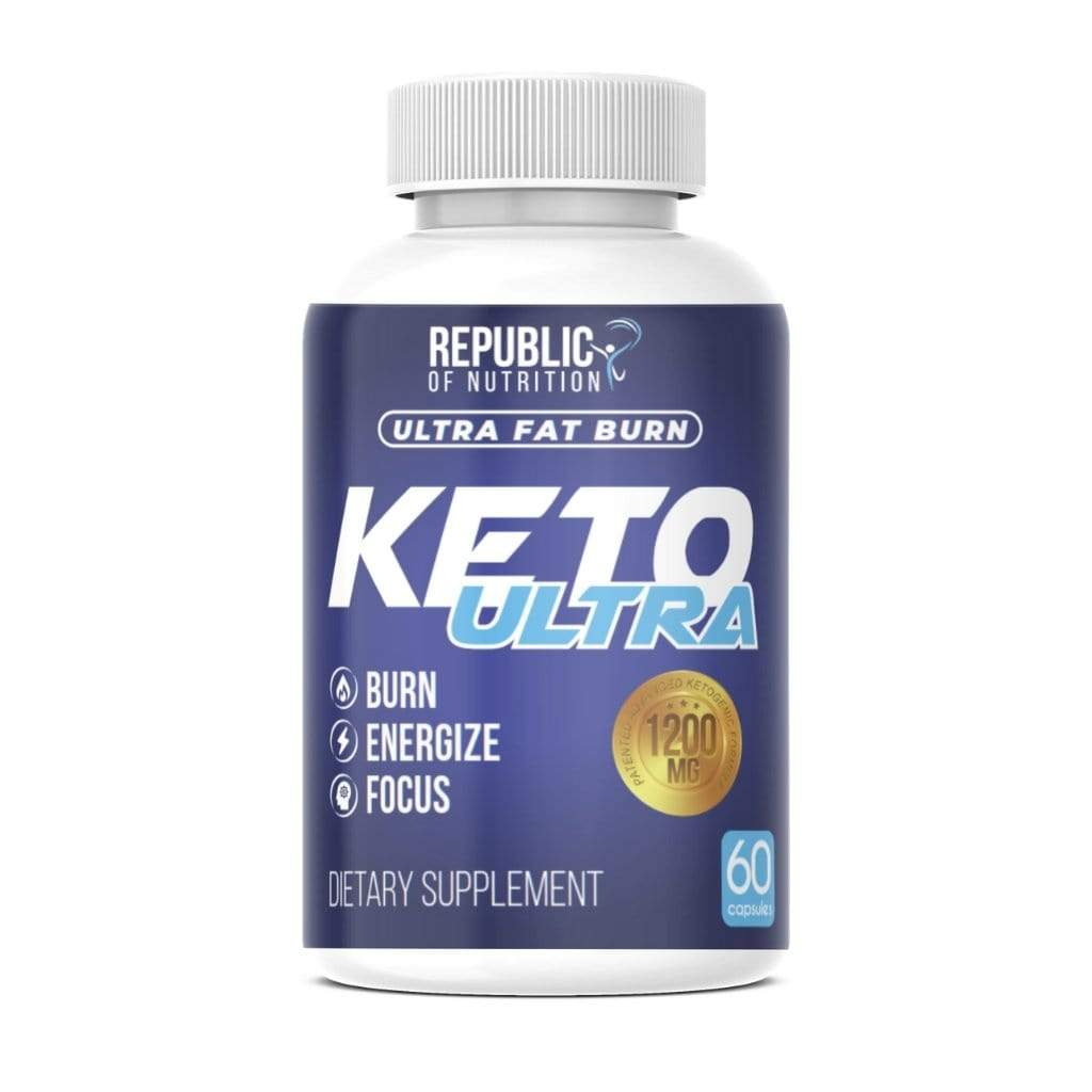 Keto Plus Ultra Fat Burn 1200mg | Quemador Grasa - Adelgazante - Cetosis - Energía - Republic Of Nutrition Chile