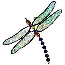 Dragonfly Glass Art