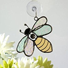 Bee Glass Art