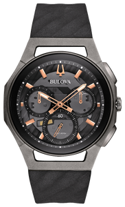 BULOVA MEN'S CURV CHRONOGRAPH WATCH 98A162