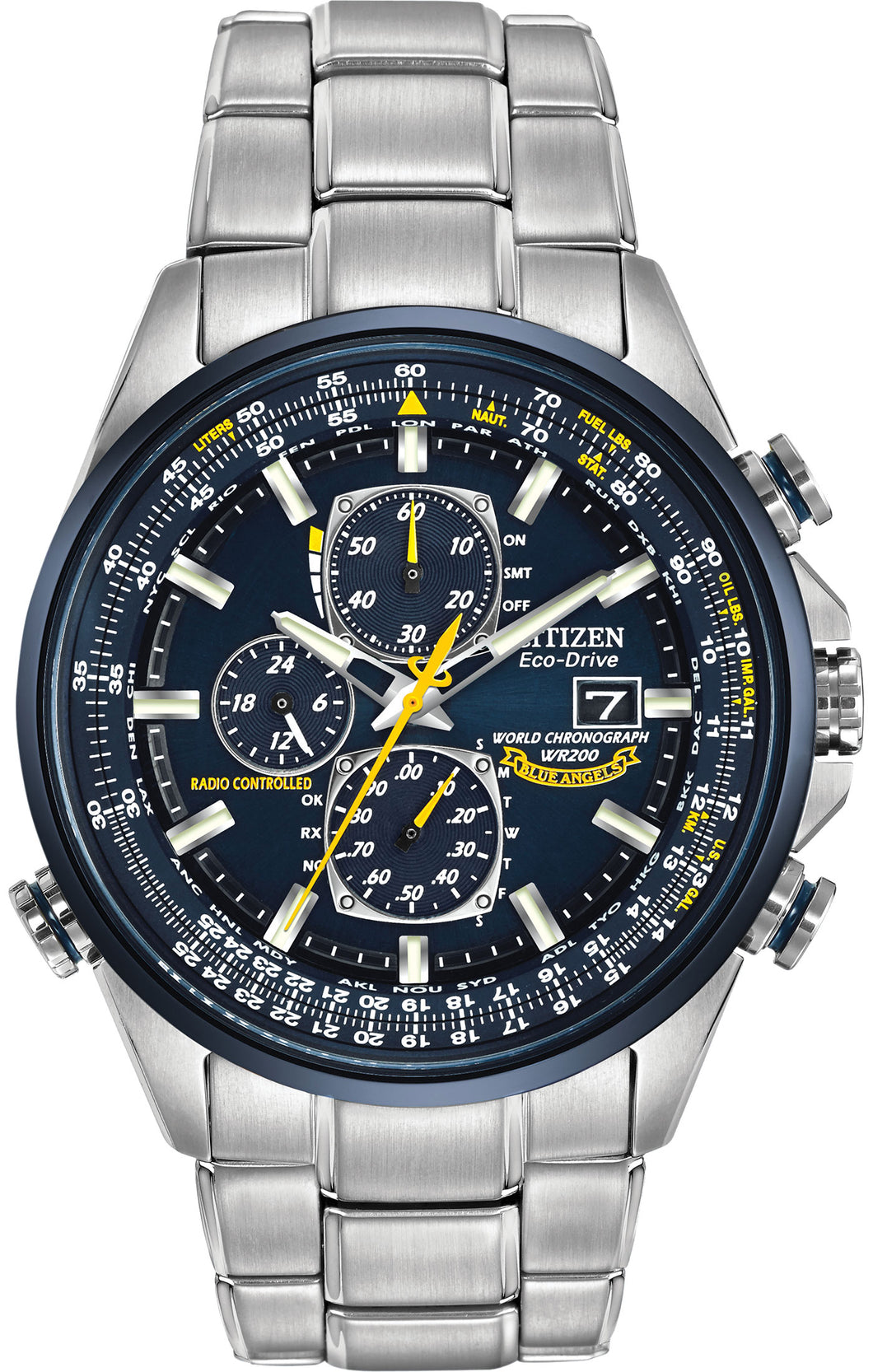 CITIZEN BLUE ANGELS WORLD CHRONOGRAPH A-T AT8020-54L