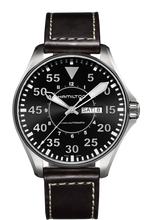 Load image into Gallery viewer, Hamilton Khaki Aviation Pilot Day Date Auto H64715535