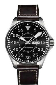 Hamilton Khaki Aviation Pilot Day Date Auto H64715535