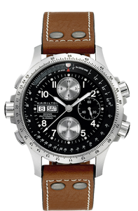 Hamilton:KHAKI AVIATION X-WIND AUTO CHRONO H77616533