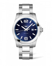 Load image into Gallery viewer, LONGINES CONQUEST 43MM BLUE DIAL STAINLESS STEEL L37604966