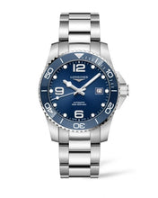 Load image into Gallery viewer, LONGINES HYDROCONQUEST CERAMIC BLUE DIAL 41MM AUTOMATIC DIVING WATCH L37814966