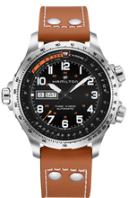 Load image into Gallery viewer, Hamilton: KHAKI AVIATION X-WIND DAY DATE AUTO H77755533