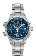 Load image into Gallery viewer, HAMILTON KHAKI AVIATION X-WIND GMT CHRONO QUARTZ H77922141