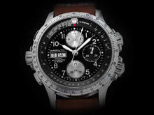 Load and play video in Gallery viewer, Hamilton:KHAKI AVIATION X-WIND AUTO CHRONO H77616533