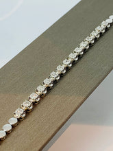 Load image into Gallery viewer, 14K WHITE GOLD DIAMOND BRACELET