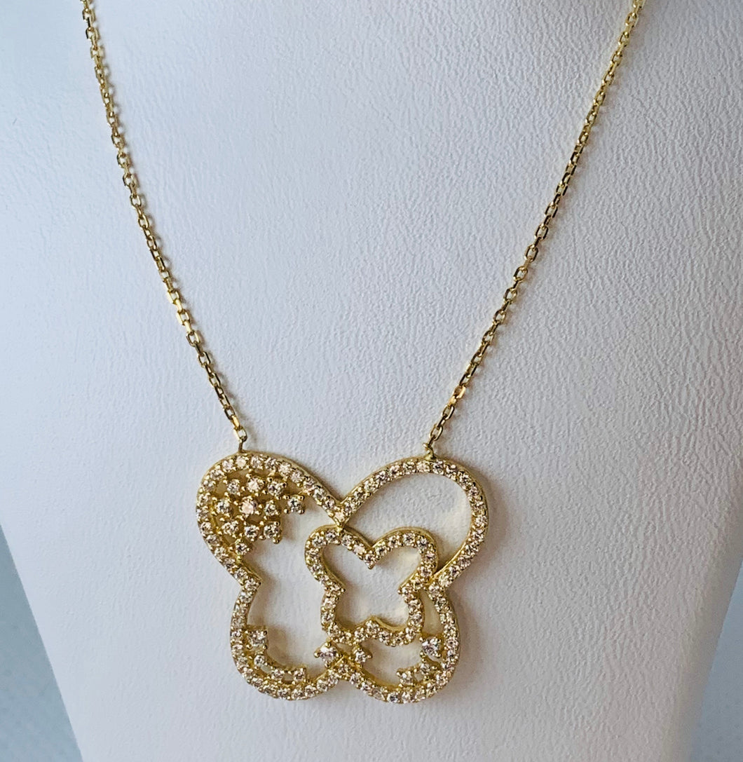 18K Yellow Gold Fancy Necklace