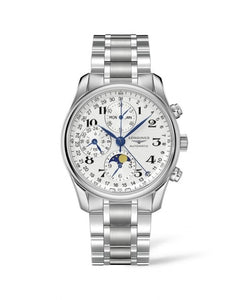 LONGINES MASTER COLLECTION 40MM CHRONOGRAPH WITH MOON PHASE L26734786