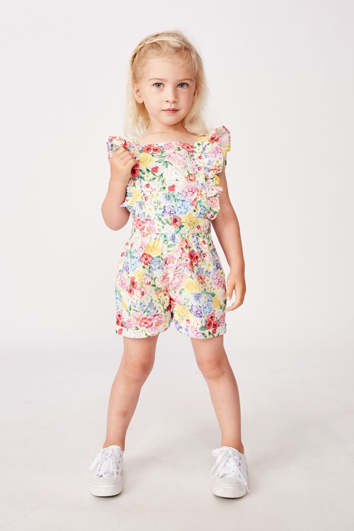 Summer Floral Playsuit