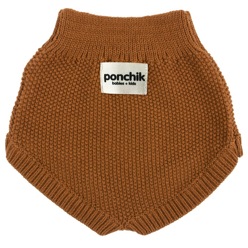 Maple Syrup Knit Bloomers