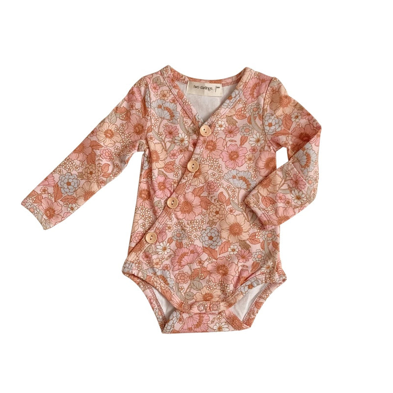 Wildflower Long Sleeve Bodysuit