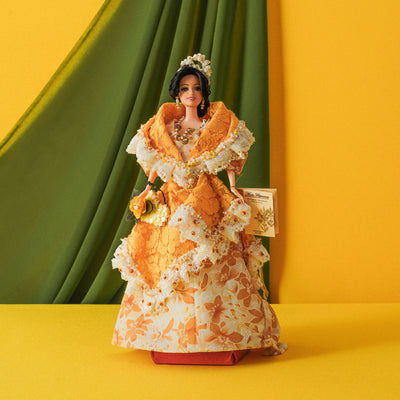 Filipiniana Doll - Orange - TESOROS