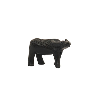 Wooden Carved Carabao 3in. - TESOROS