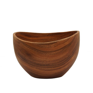 Acacia Irregular Deep Bowl